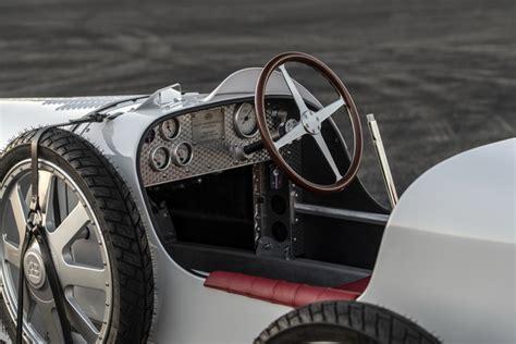 It's 75% of the size of a real bugatti type 35. Bugatti-Baby-II-2020-00005