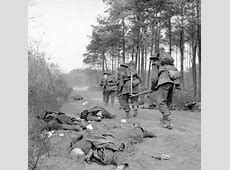 27 March 1945 British infantry attack against dug in