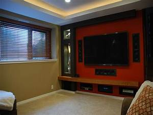 Contemporary decorating ideas for bedrooms small home for Home theater designs for small rooms