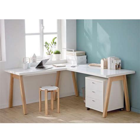 bureau bois et blanc les 25 meilleures idées de la catégorie bureaux sur