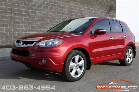 2008 Acura Rdx Technology Package 2008 acura rdx awd technology package envision auto