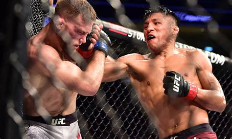 ufc  espn  enrique barzola reveals plan  drop