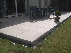 Dalle Sur Plots : terrasse bois dalle sur plot ~ Farleysfitness.com Idées de Décoration