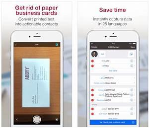 Best business card reader app iphone infocardco for Best business card reader for iphone