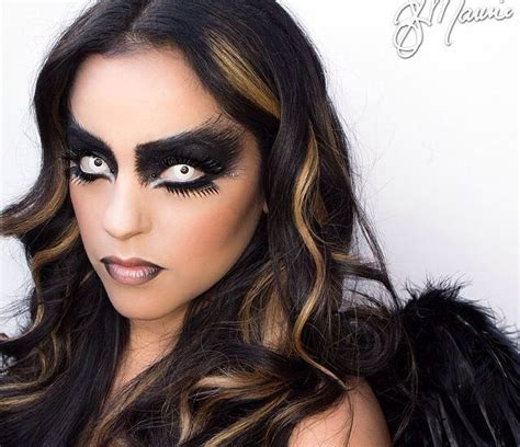 fallen angel makeup  halloween faschingskostueme