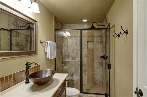 Stylish Basement Bathroom Ideas Walk In Shower Hupehome
