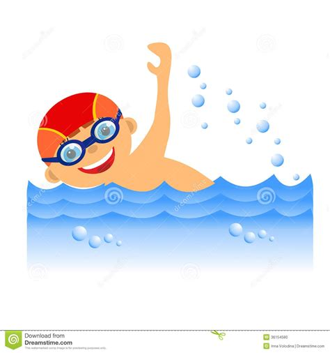 clipart image boy swimmer clipart clipground