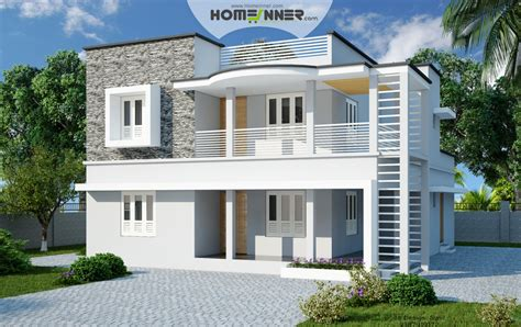 4 Bhk Home Design In India : 4 Bhk 2500 Sq Ft Contemporary Indian Home Design