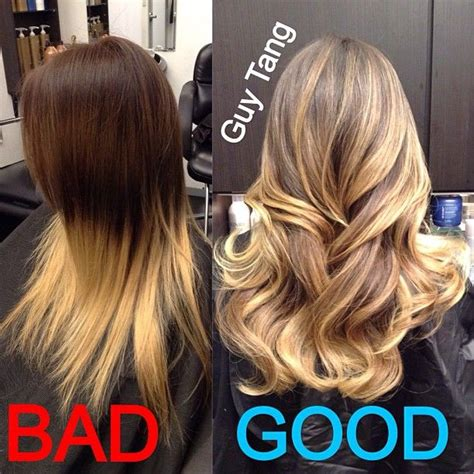 Ombre Hair The Difference Between Dip Dye And Ombré