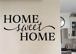 Home Sweet Home Wall Stickers - [peenmedia com]