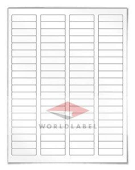 Avery Template 5195 Return Address Labels 1 75 X 0 666 60 Labels Per Sheet