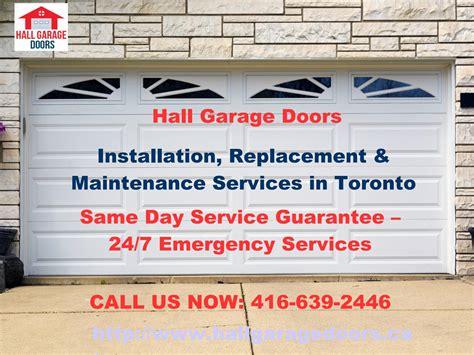 garage door installation service garage door repair toronto new installation