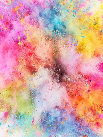 Colorful Powder Explosion  Wallpapercover Pinterest
