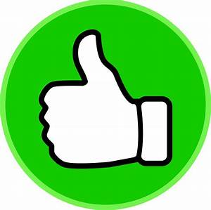 Symbol thumbs up clip art vector free clipart clipartix ...