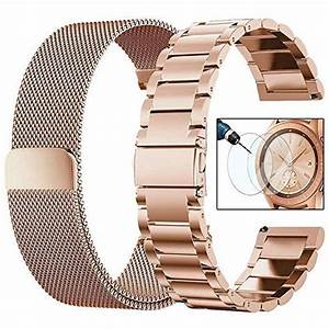 Cagos Compatible Galaxy Watch 42mm  Ticwatch E Bands Sets