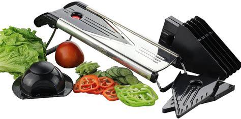 cuisine mandoline chef 39 s inspirations premium v blade stainless steel