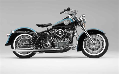 1938 Harley Davidson Knucklehead Desktop Wallpaper