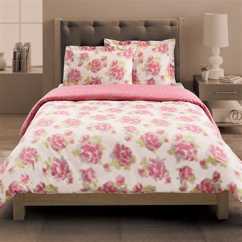 Xl Bedding by New Pink White Floral 3 Xl Comforter Duvet Set