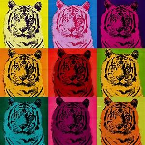 Tiger Pop Art on Behance