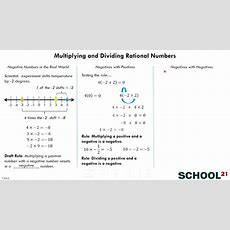 Multiplying & Dividing Rational Numbers (7ns2) Youtube