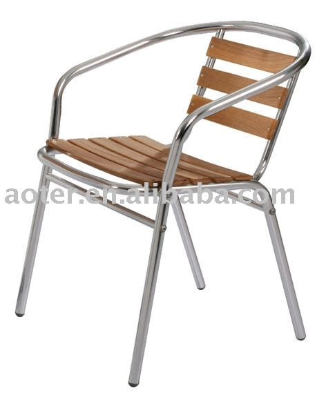 aluminium wood bistro chair cafe chair buy bistro chair