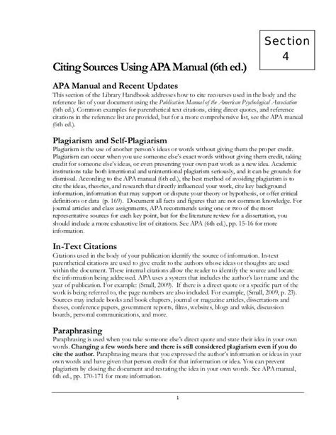 Apa Psychology Paper Exles by Image Result For How To Cite References In Apa 6th Edition