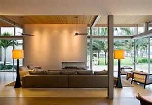 Trennwand Im Wohnzimmer : das wohnzimmer attraktiv einrichten 70 originelle moderne designs ~ Sanjose-hotels-ca.com Haus und Dekorationen
