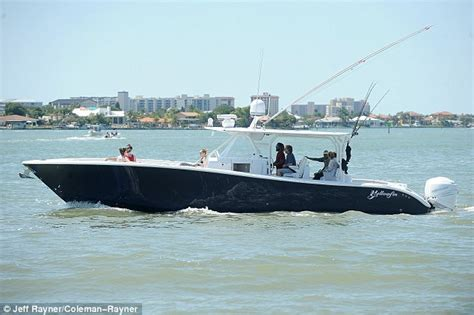 Fishing Boat Cruise by Tom Cruise S Mother Seen In Public For The First Time In