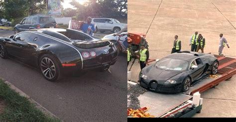 Anyway someone flew a bugatti into zambia via emirates. $2.8m Bugatti Veyron seized in Zambia, owner's source of income now being investigated (video ...