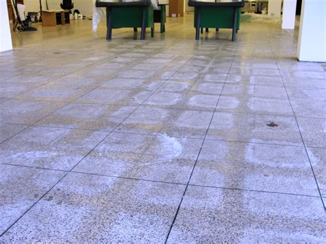 Cleaning Terrazzo Floor Tiles by Work History South Essex Tile Doctor