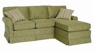 Green sectional slipcover sofa with chaise for small space for Green sectional sofa with chaise