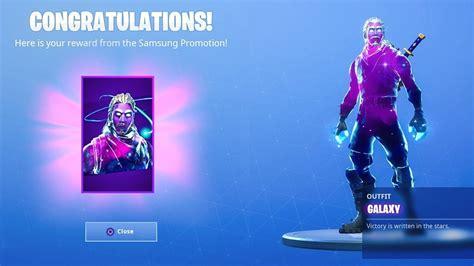 worked  unlocked  galaxy skin  fortnite