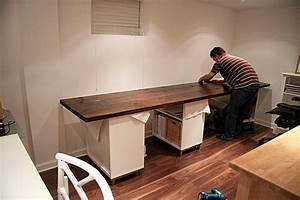 Diy desk picmia for Diy office desk ideas for your home office