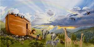 Noah U0026 39 S Ark Painting By Cheryl Allen