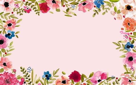 Border Background Hd by Floral Border Wallpaper And Background Image 1856x1161