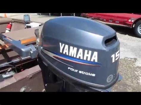 yamaha 15 hp four stroke