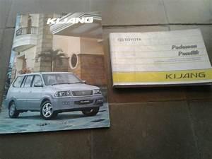 Jual Manual Book Dan Brosur Original Toyota Kijang Kapsul