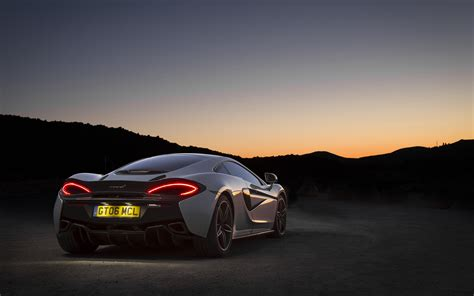Mclaren 540c 4k Wallpapers by Picture Mclaren 570gt Back View Automobile 3840x2400