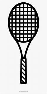 Racket Tennis Coloring Alternate Template Interior Examples sketch template