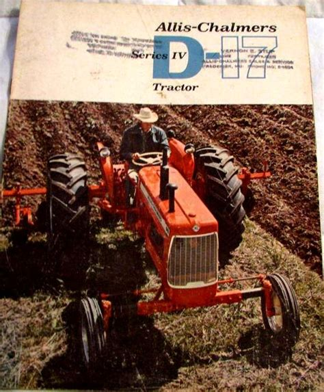 allis chalmers d17 series iv tractor construction plant wiki fandom powered by wikia