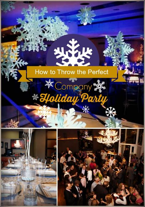 corporate holiday parties and events some tips about how to throw the company great practical advice on what