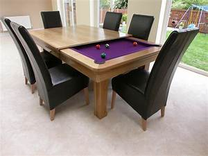 Red ball pool snooker furniture shops in darlington for Dining pool table