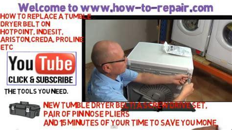 hotpoint dryer belt replacement diagram diagram