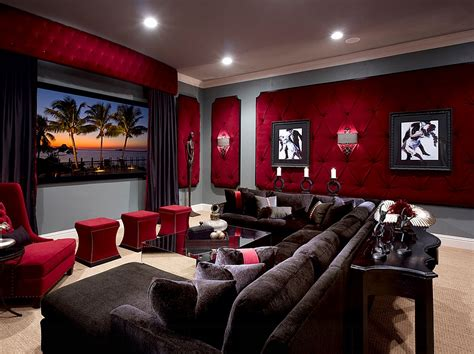 Living Room Theatre Boca by 11 Trendy Rooms With Tufted Wall Panels