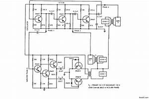 Component Circuit Diagram Of An Inverter Making A Simple
