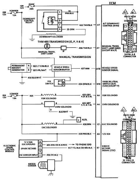 Silverado Speedometer Wiring Diagram by Tbi 350 Installation Land Cruiser Tech From Ih8mud