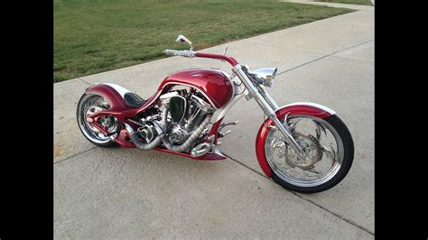 2010 Custom Chopper Pro Street 280mm Motorcycle