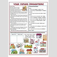 Your Future (prediction) Worksheet  Free Esl Printable Worksheets Made By Teachers