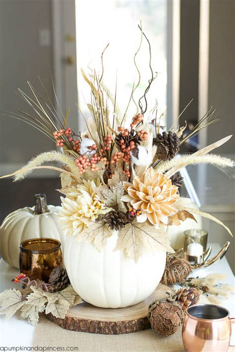 easy thanksgiving centerpieces   holiday table