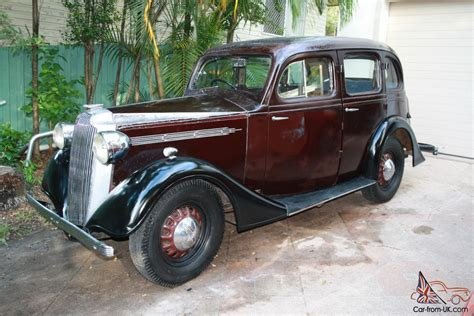 Vintage Vauxhall 1937 Holden Body Almost Totally Original